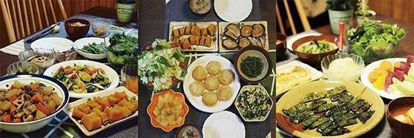 受講された方の料理2