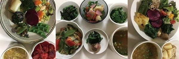 受講された方の料理5