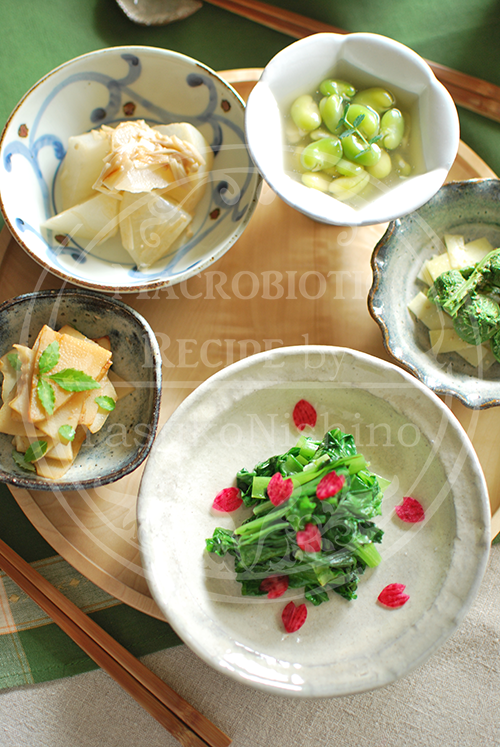 山菜和食膳
