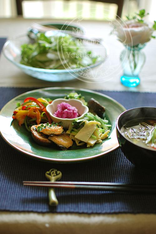 いつでも基本は和食。